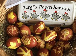 Eier Gefärbt