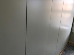 Floor to ceiling built-in modern wardrobes