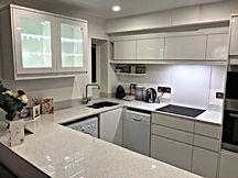 Open-plan kitchen, South London
