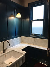 Utility room with WC, Brockley