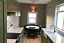 Designer kitchen, North London
