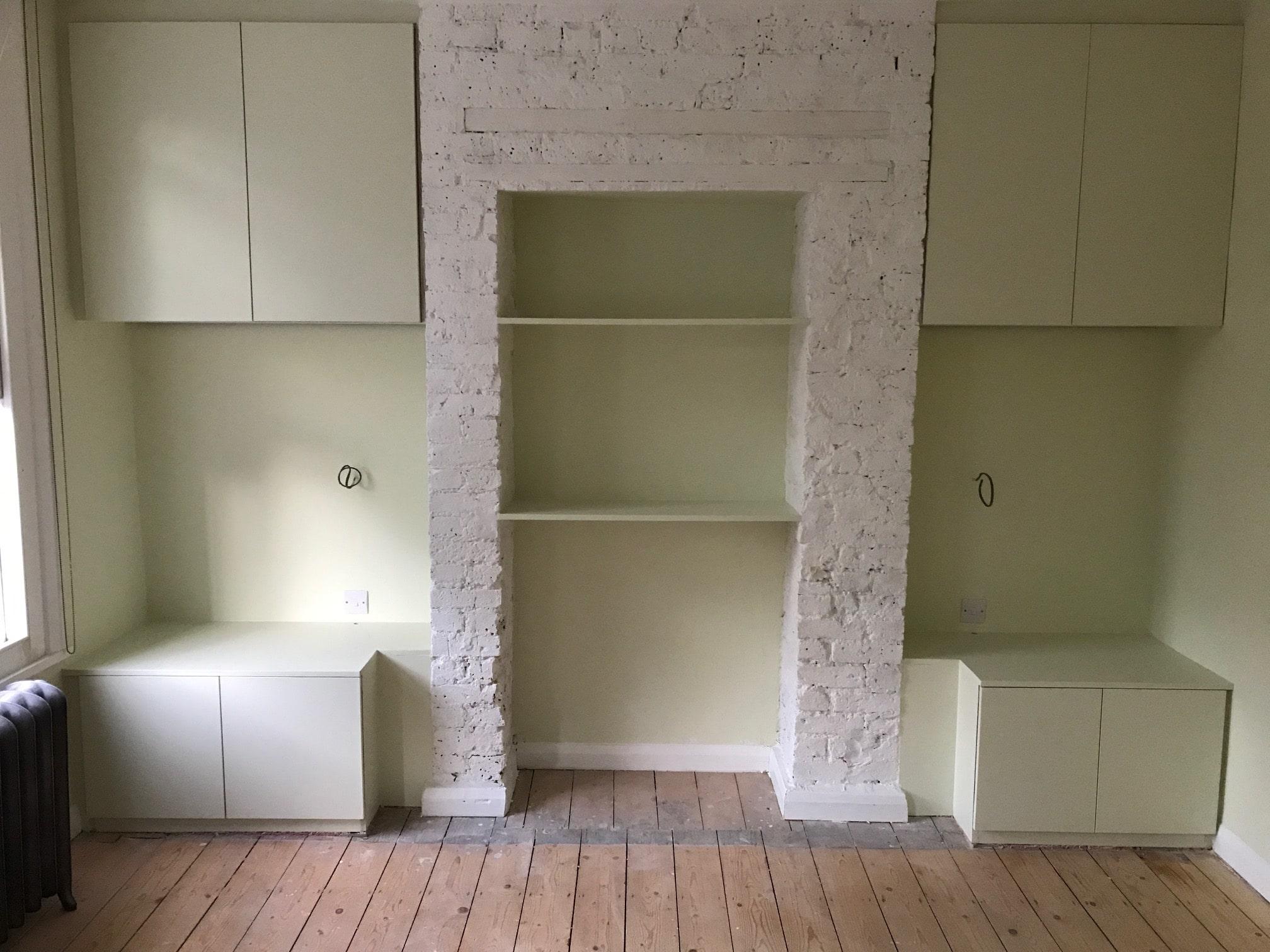 Bespoke bedroom cupboards and shelving