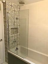 Moroccan style bathroom East London