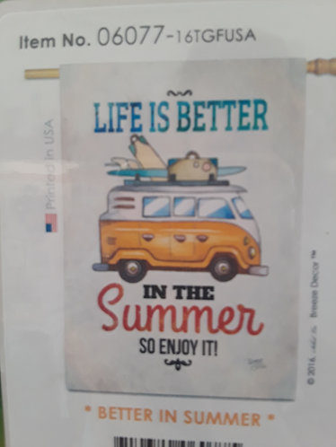 Life is better.......