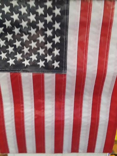 Garden size American flag