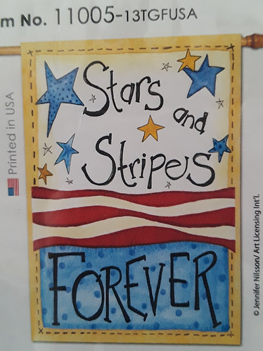 Stars and Strips forever flag