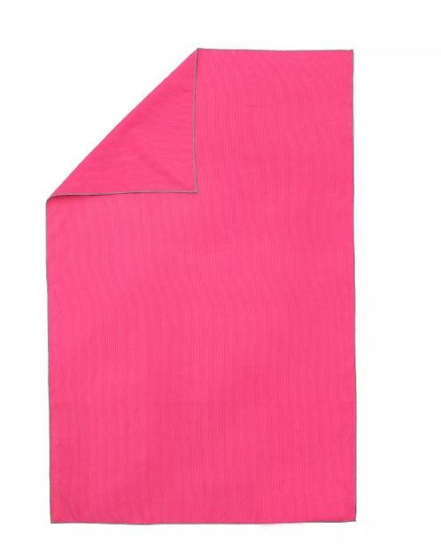ПОЛОТЕНЦЕ из МИКРОФИБРЫ  рифлёное L NABAIJI розовый