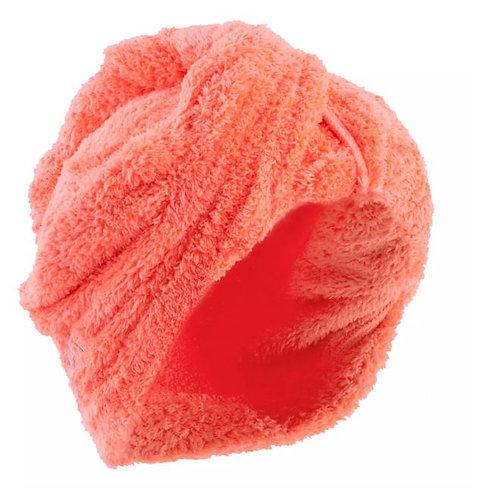 ПОЛОТЕНЦЕ-колпак для волос из мягкой МИКРОФИБРЫ NABAIJI красно-оранжевый