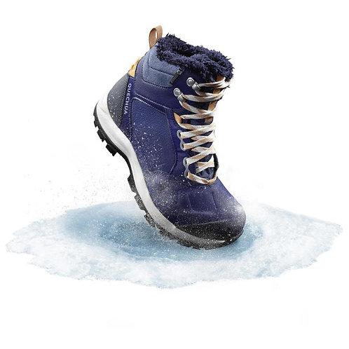 женские БОТИНКИ зимние SH520 X-WARM MID QUECHUA синий