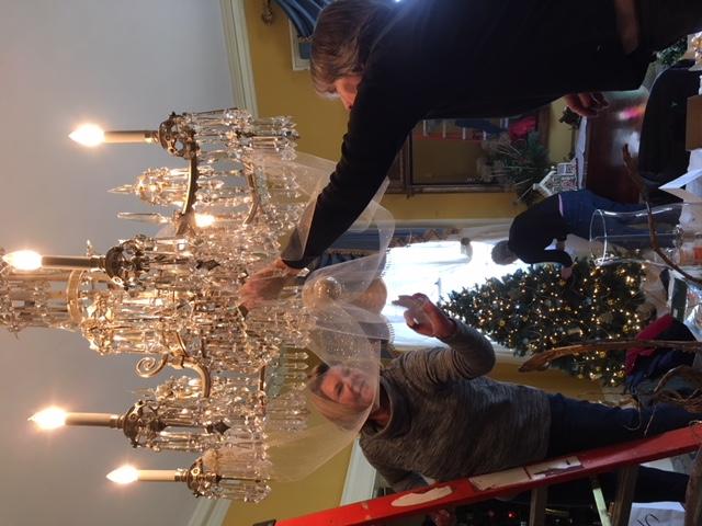 chandelier adornment