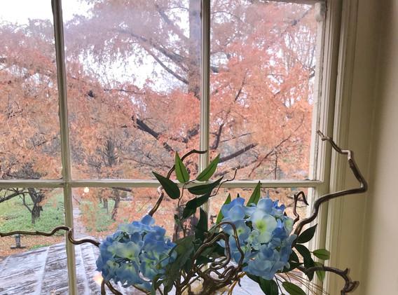 Staircase Window, Ten Broeck Mansion
