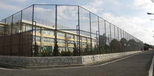 練馬区立北原小学校校庭拡張整備工事しゅん工写真1