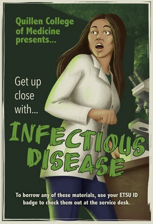 Get Up Close With Infectious Disease Poster