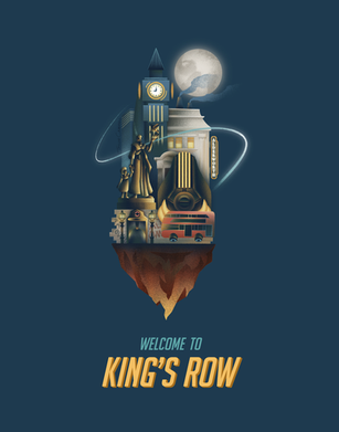 Welcome to King's Row Poster