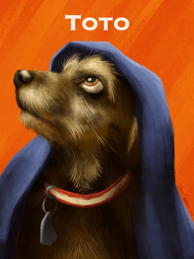 Pet Portrait: Toto