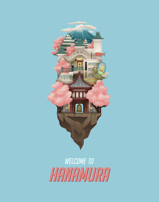Welcome to Hanamura Poster