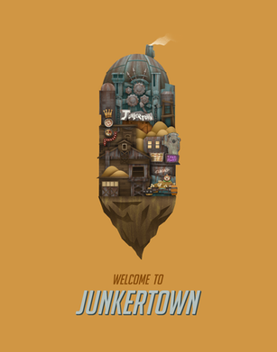 Welcome to Junkertown Poster