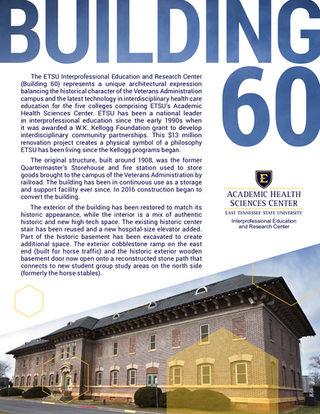 Building 60 Flyer [Front]