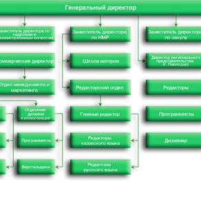 Структура издательства