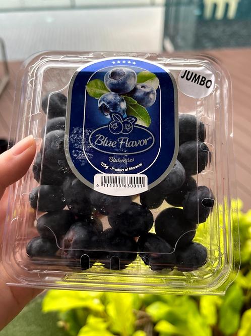 BlueFlavor Jumbo Blueberries (125g)