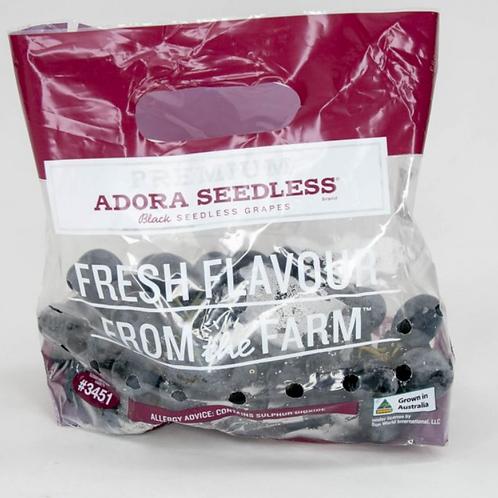 Adora Black Grapes (Seedless) 1KG