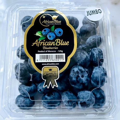 AfricanBlue Jumbo Blueberries (125g)