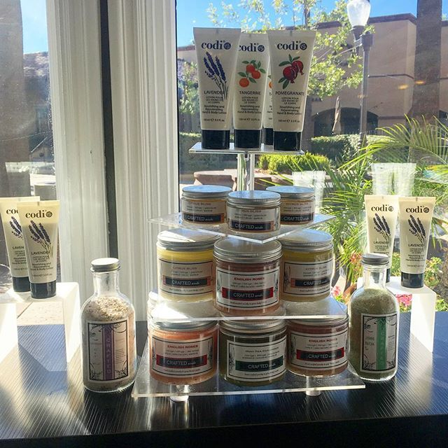 Come check out our amazing products! We offer lotions, scrubs, and soaks! ✨#organicsalon #scrubs #lo