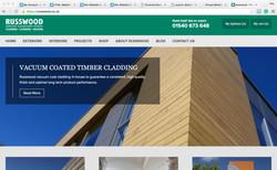 Russwood website marketing