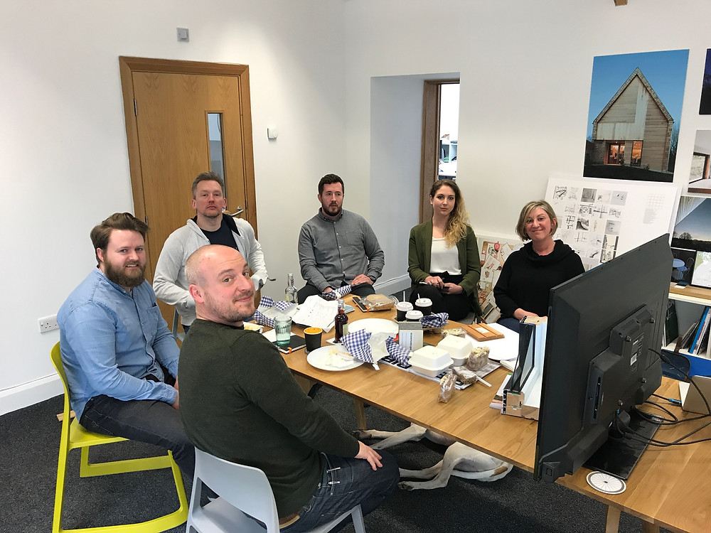 Award winning team at Elliot Architects