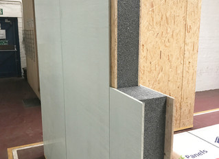 Introducing our new hybrid Magnesium Oxide/OSB SIP Panel for a highly efficient thermal envelope