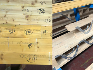 Metal Web Joists, in house manufacture