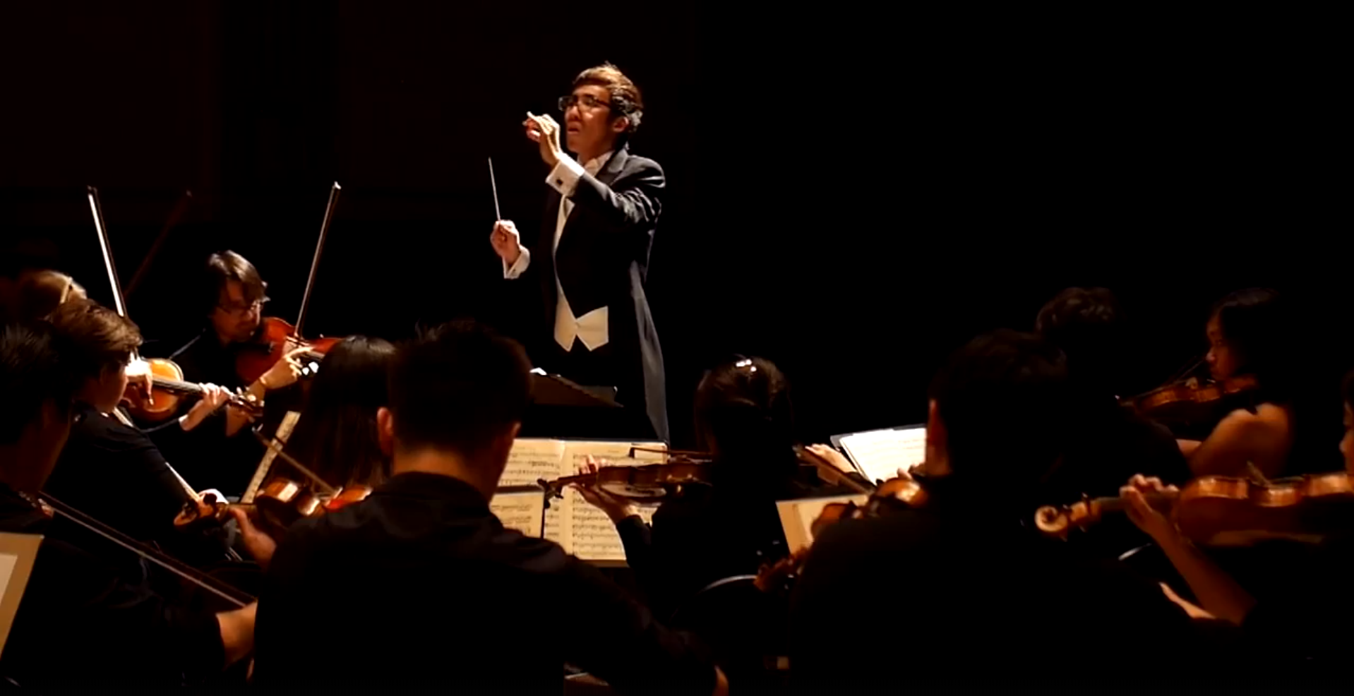 Joshua Chiu Conducting