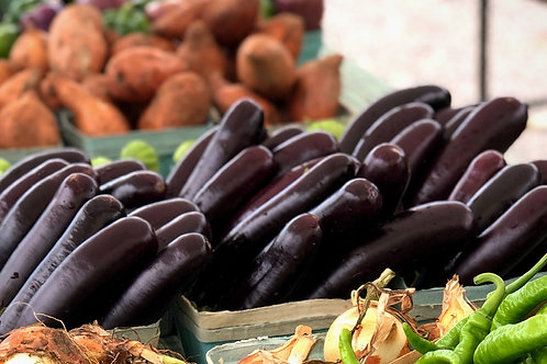Little Finger Eggplant (per pint)