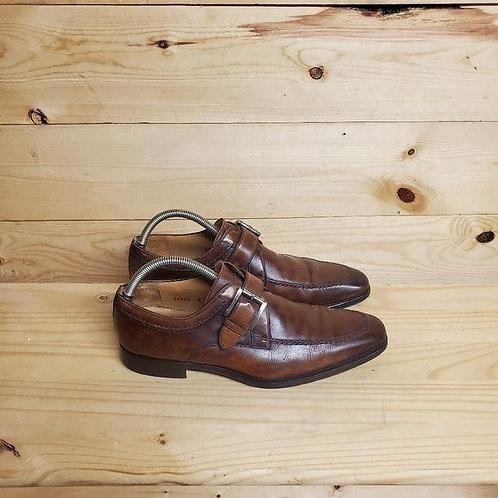 Magnanni 15955 Leather Monk Strap Men's Size 8