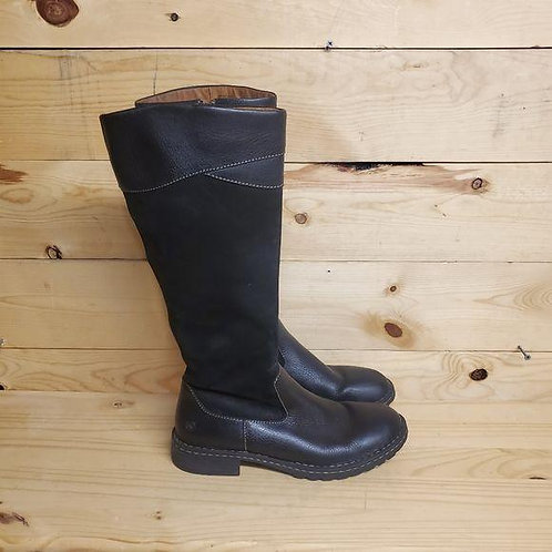 Born W3264 Leather Boots Women's Size 9.5
