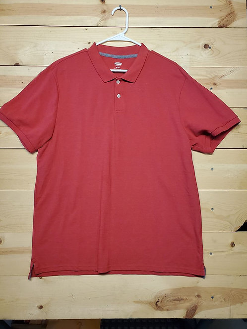 Old Navy Half Button Up Polo Men's T-Shirt Size XL