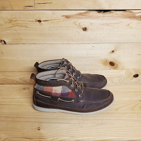 Sperry Chukka Plaid Boots Men's Size 13