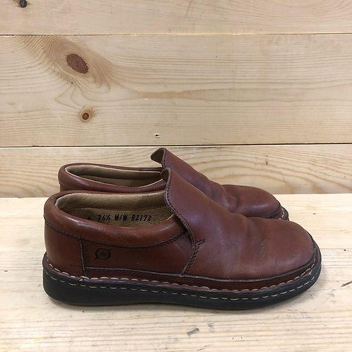 Born Leather Loafers Women's Size 6