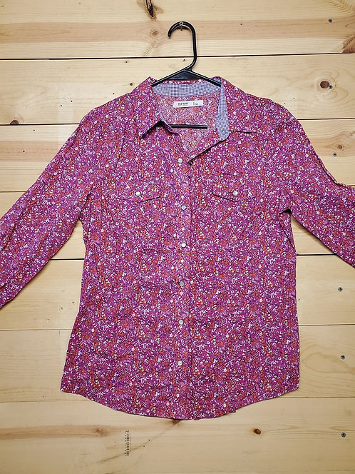 Old Navy Button Up Women's Long Sleeve Size M