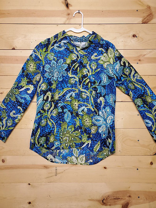 Chicos Button Up Women's Long Sleeve Size 0