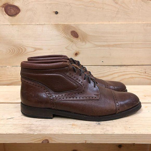 Johnston & Murphy Leather Oxfords Men's Size 8.5