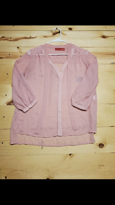 Elle Button Up Women?s Small