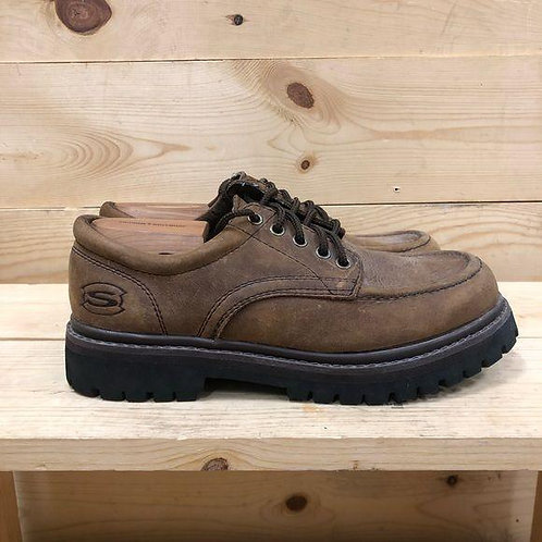 Skechers Leather Oxfords Mens Size 9