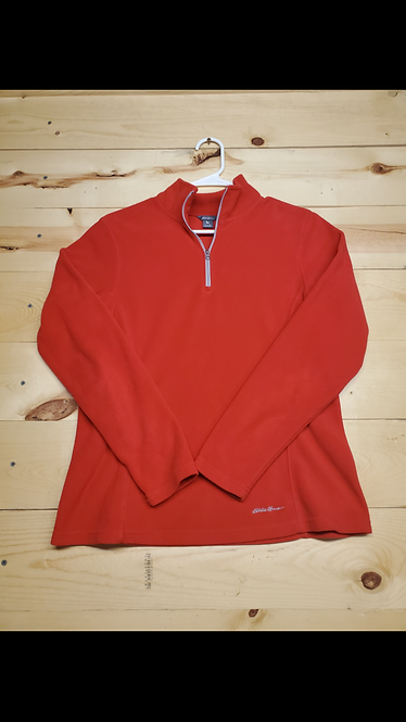 Eddie Bauer Half Zip Women?s Small