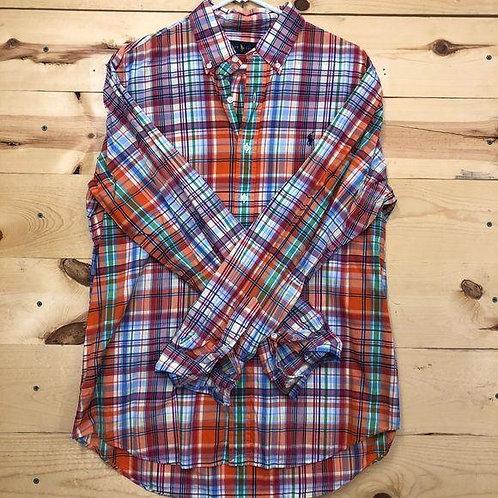 Ralph Lauren Button Down Shirt Men's Large