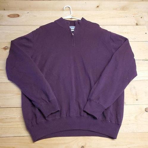 Cutter & Buck Half Zip Sweater Men's L
