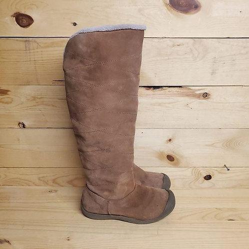 Sahalie Caramel Boots Women's Size 8.5