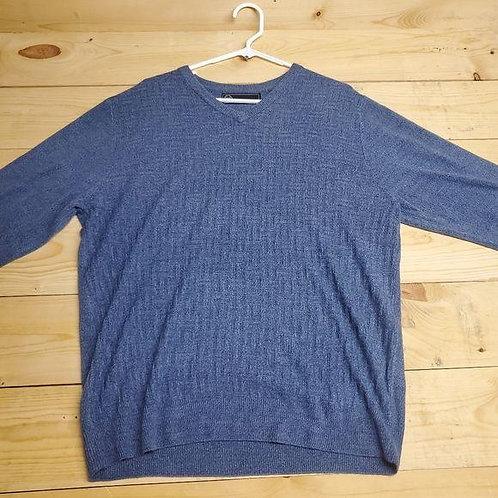 Weatherproof V-Neck Sweater Men's Large