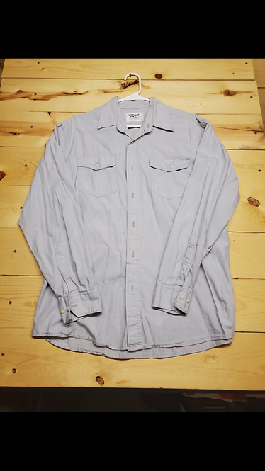 Wrangler Jeans Co. Button Up Men?s Large