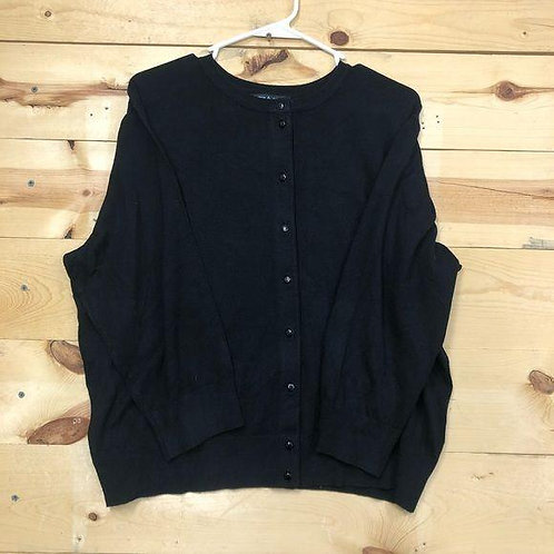 Cable & Gauge Cardigan Womens 2XL